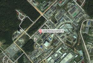 Карта проезда Декар Екатеринбург
